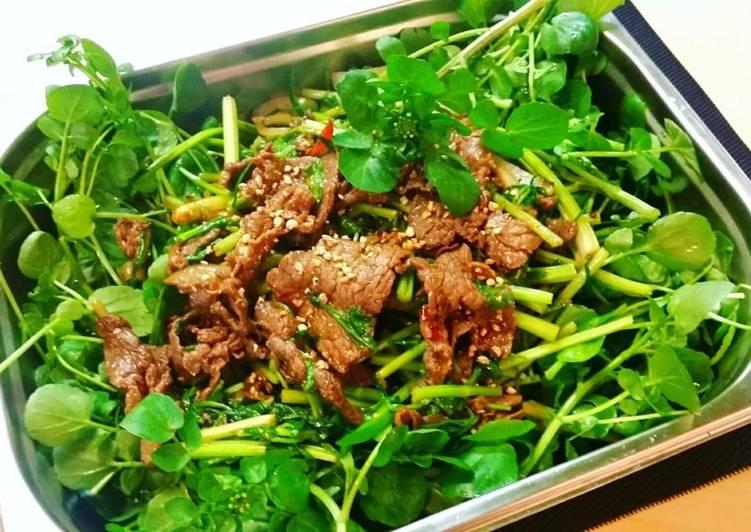 salad bo cai xoong