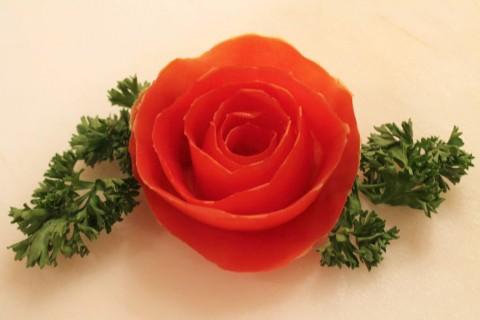 tia hoa hong tu ca chua