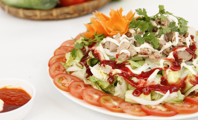 salad cu hu dua chong ngan ngay tet