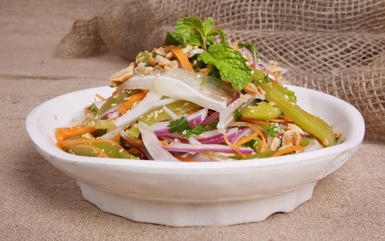 salad rau tien vua mon salad ngay tet