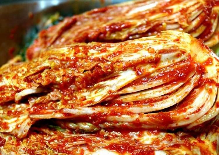 Cách làm kim chi cải thảo Hàn Quốc cho món thịt nướng thơm ngon
