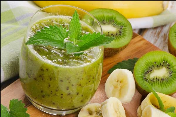 sinh to kiwi chuoi