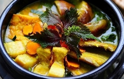 cách nấu canh cà tím đậu phụ