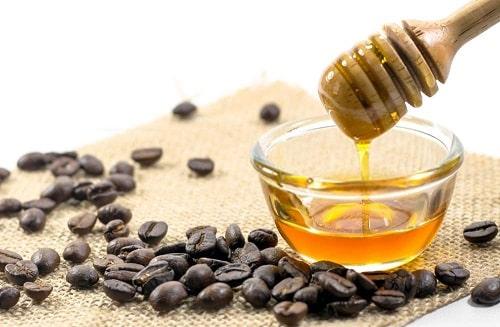 cà phê và mật ong