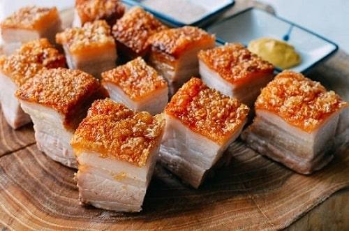 cách làm thịt áp chảo ngũ vị hương