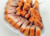 thịt ba chỉ áp chảo ngũ vị hương
