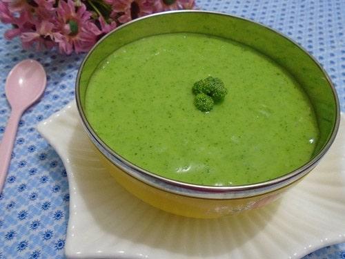 món ngon từ súp lơ xanh
