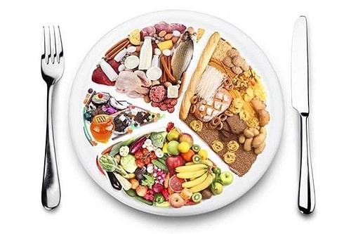 4 nhóm thực phẩm
